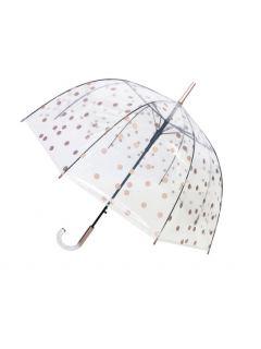transparante-paraplu-goudenstip-open