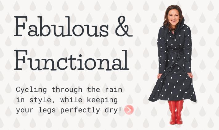 fabulous and functional raincoat